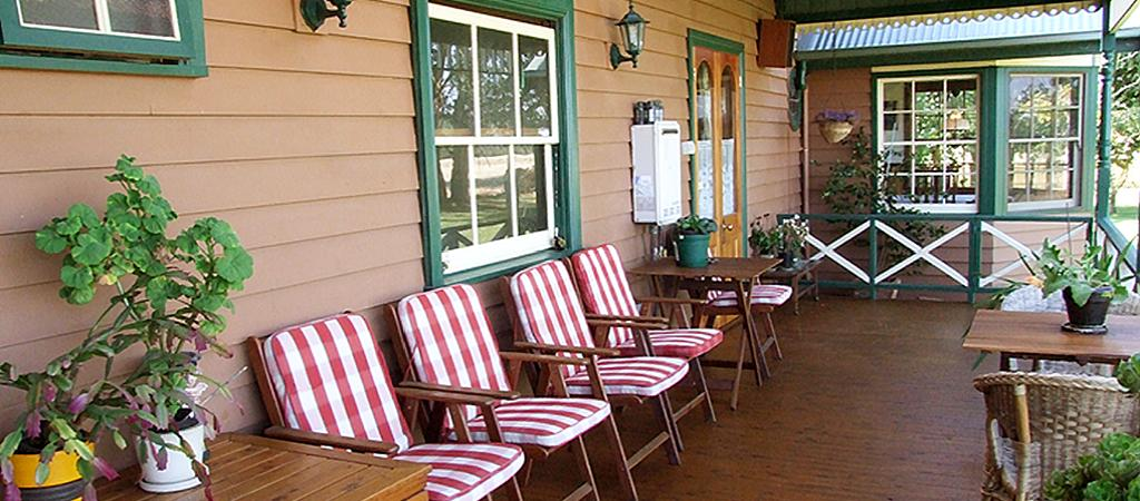 Suite 2 verandah