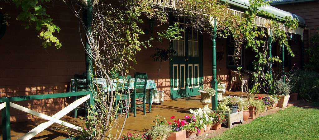 butterfly farm suite 1 verandah